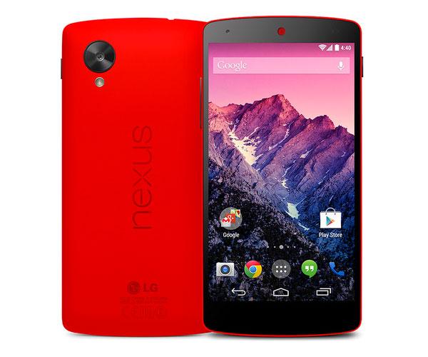 google-nexus5-red-modele-rouge-en-vente