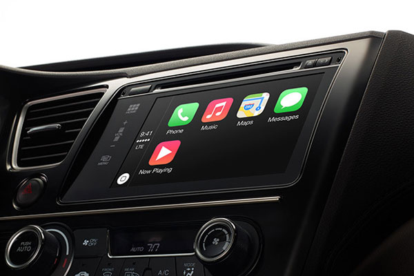 apple carplay interface iOS7 pour automobile Apple CarPlay: Interface iOS dans Tableau de Bord Automobile