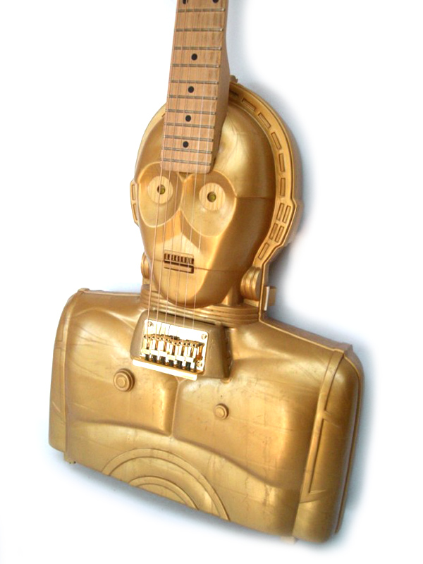 C-3PO-guitare-electrique-collector