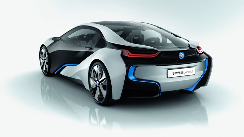Célèbre BMW i8 Concept: Voiture de Sport en guise de Souris sans Fil FK51