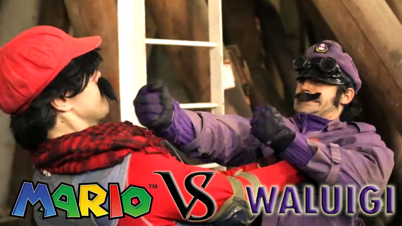 Mario-vs-Waluigi-Combat-Art-Martiaux-Video