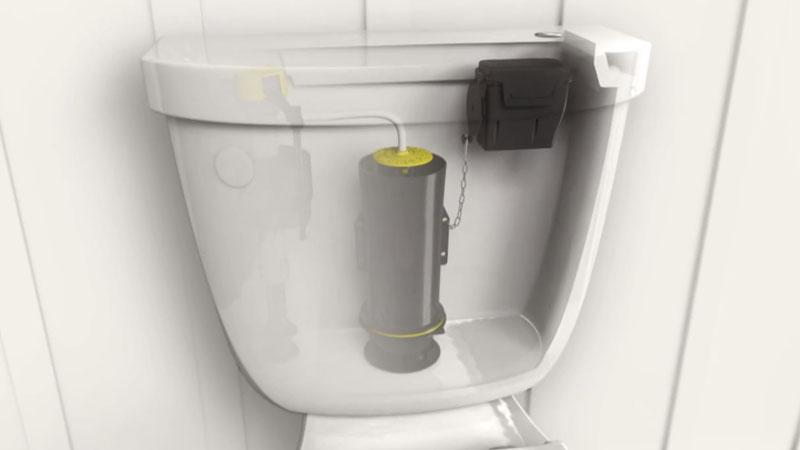chasse d eau sans contact m canisme chasse d 39 eau wc. Black Bedroom Furniture Sets. Home Design Ideas