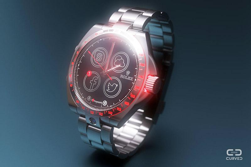 rolex montre connectee intemporelle et design LUXUS Smartwatch: Montre Connectée de Luxe par ROLEX en Vidéo