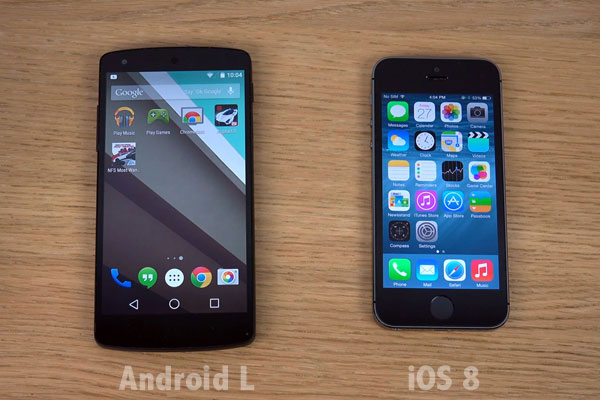 android-L-vs-iOS8-comparatif-video