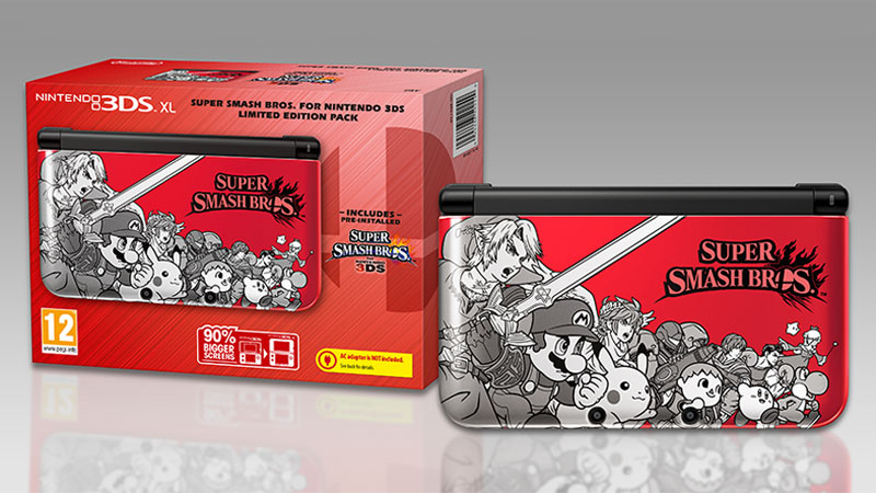 3DSXL-nouveau-pack-super-smash-bros-collector