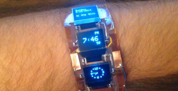 ardubracelet-montre-3-ecrans-OLED-par-ArduBoy