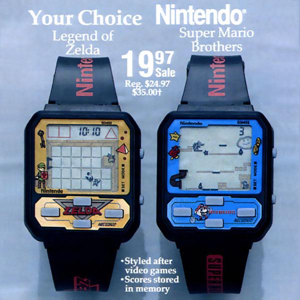 montres-nintendo-zelda-mario-plus-cool-que-smartwatch