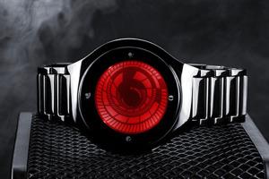 Tokyoflash-kisai-vortex-Montre-Tactile-affichage-Spirale