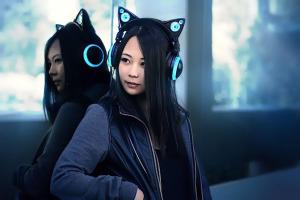 ecouteurs-speaker-en-forme-d-oreilles-de-chat