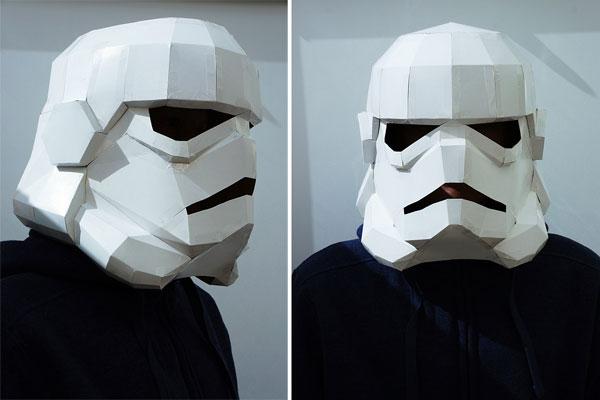 halloween: comment faire un casque stormtrooper pas cher