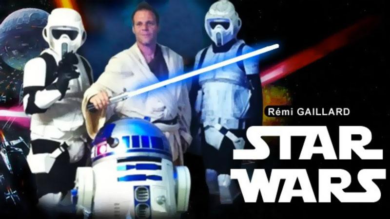 Camera Cachee Star Wars : Star wars: camera cachée de remi gaillard en vidéo