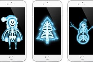 noel-fonds-ecran-rayon-x-pour-mobile-gratuit