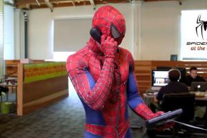 Spider-Man-au-Bureau-Parodie-video