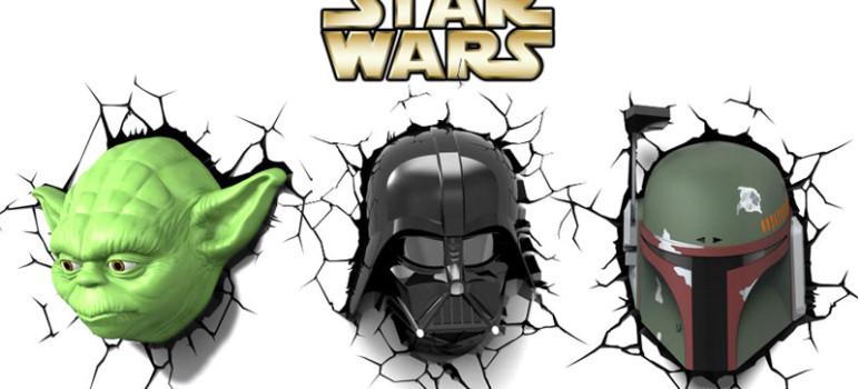 star-wars-lampe-murale-3D-dark-vador-yoda-boba-fett