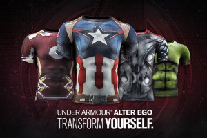 Avengers2-T-Shirt-Compression-Super-Heros-en-Vente