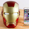 IRON-MAN-Tete-Haut-Parleur-Bluetooth