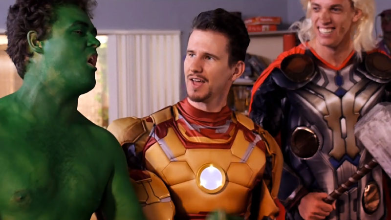 parodie film de super heros