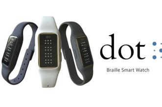 DOT-Montre-Connectee-Braille-Non-Voyant-en-precommande
