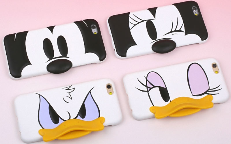 coque iphone 6 3d disney