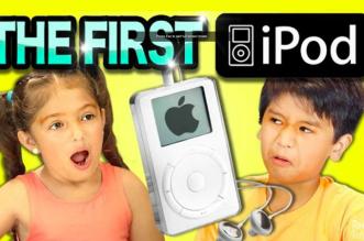 ces-enfants-testent-le-1er-ipod-pour-la-premiere-fois