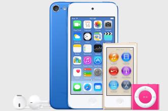 iPod-Touch-2015-prix-date-nouvelles-couleurs-ipod-nano-shuffle