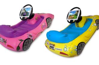 voiture-gonflable-dora-bob-pour-jouer-sur-ipad