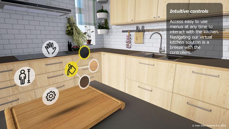 Réalité Virtuelle Tester Les Cuisines Ikea En 3d Avec Casque Vr