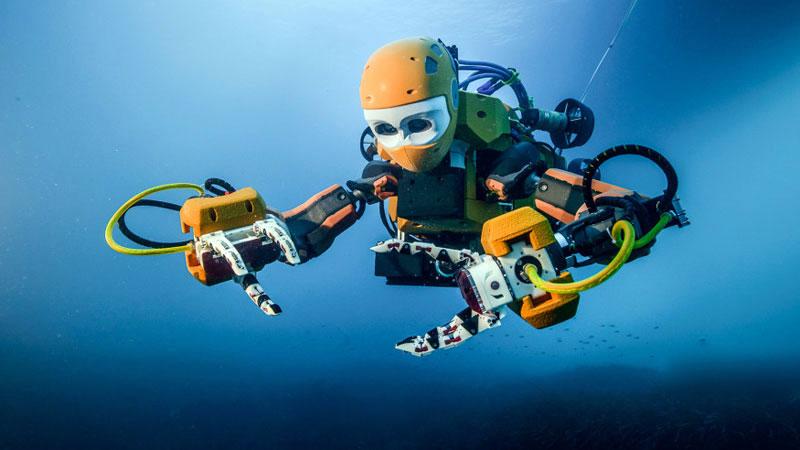 robot ocean one