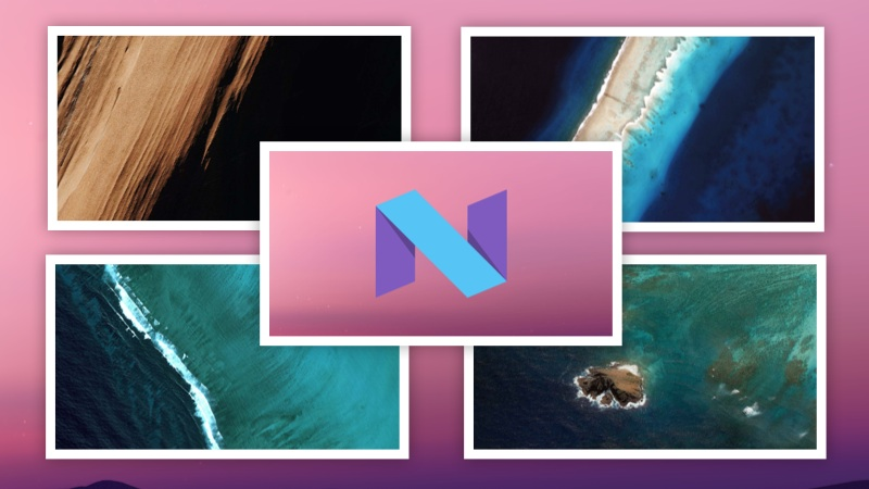 Android N Wallpapers Fonds D Ecran A Telecharger Gratuit