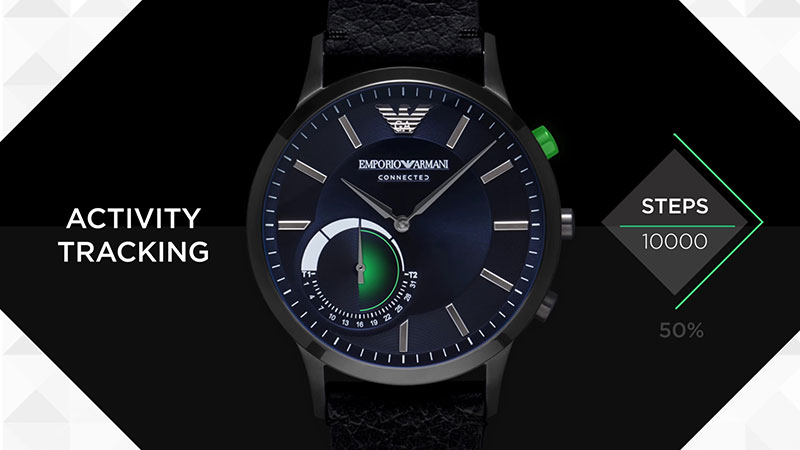 emporio armani homme montre connected