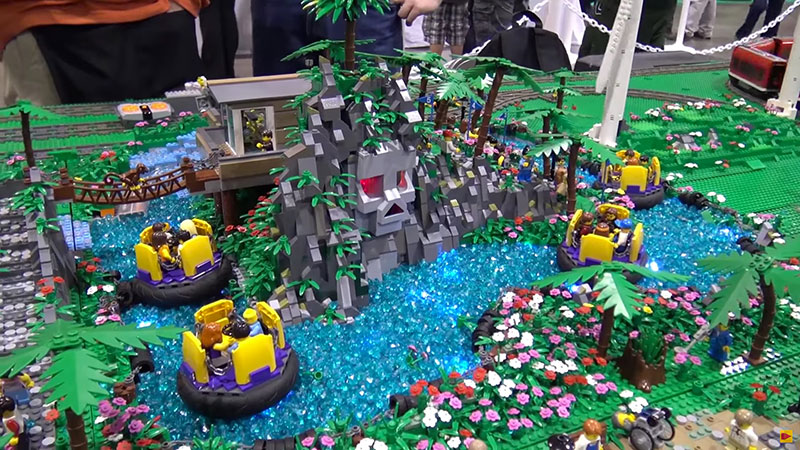 parc attraction lego
