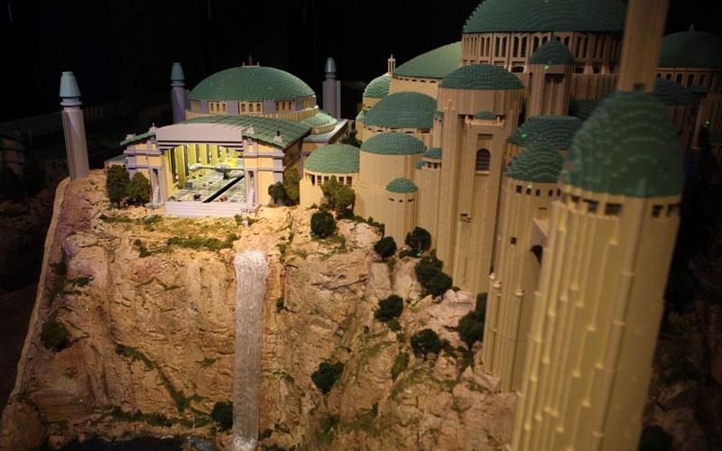 Univers Star Wars Incroyable Réplique Avec 250000 Lego
