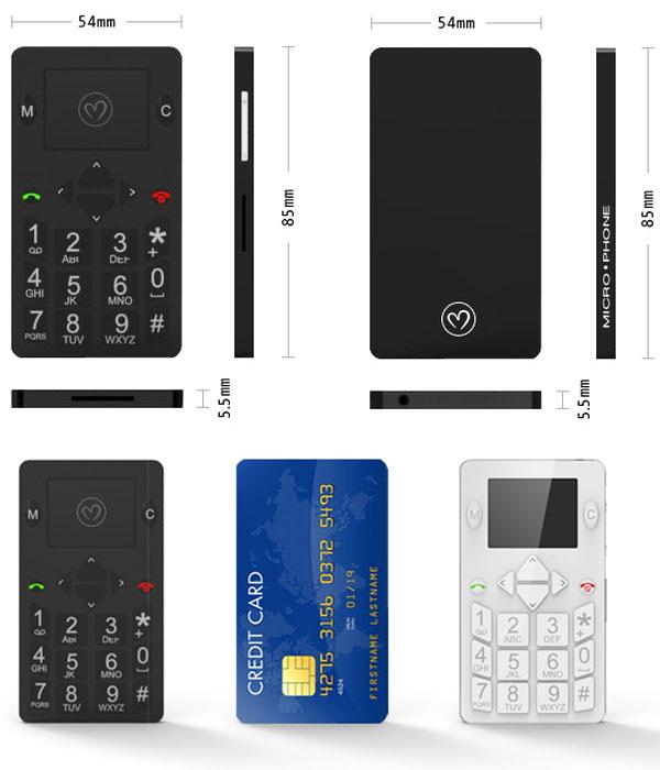 Carte Bancaire Sur Telephone.Telephone De La Taille D Une Carte Bancaire Avec Geolocalisation