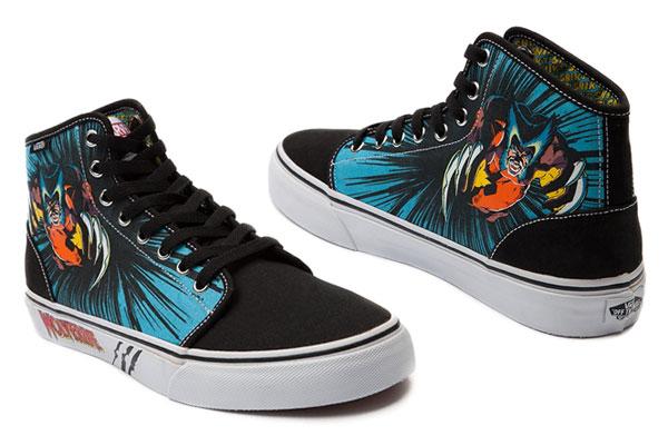 88801f9289 vans marvel chaussures wolverine officiel
