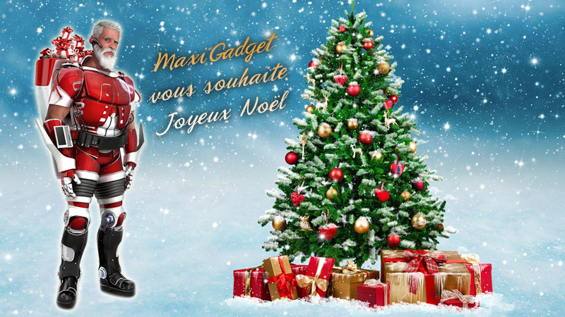 Joyeux Noel Souhaite.Maxigadget Vous Souhaite Un Joyeux Noel High Tech