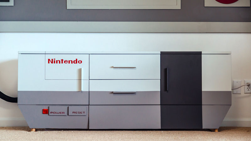 Home Cinema Nintendo Nes Diy Maxigadgetcom