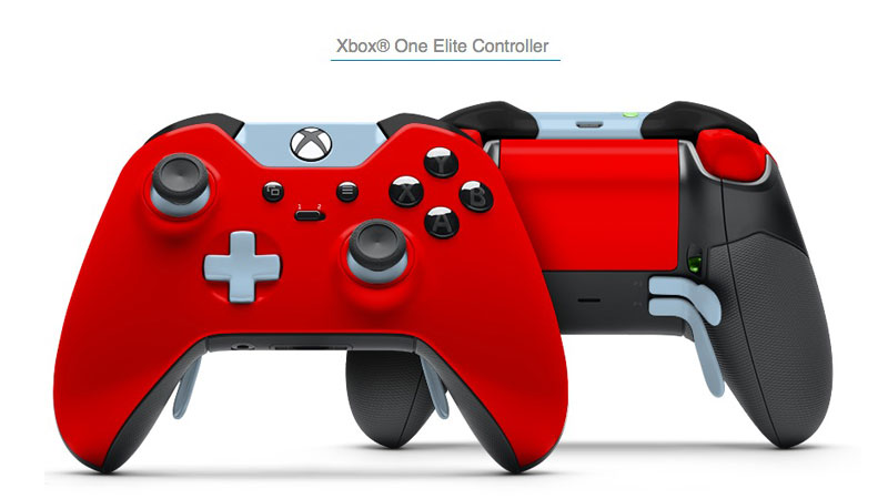 best loved another chance new styles Xbox One Elite: Couleurs aux Choix pour la Nouvelle Manette