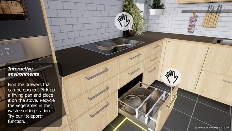 Realite Virtuelle Tester Les Cuisines Ikea En 3d Avec Casque Vr
