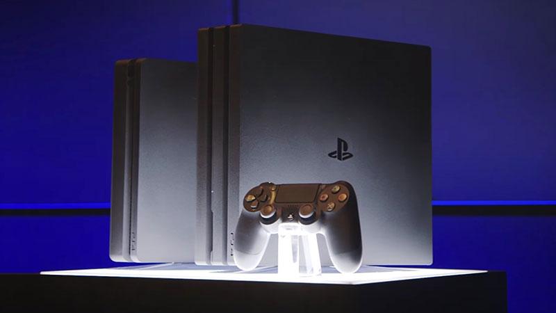 Sony Presente La Nouvelle Ps4 Pro 4k Et La Ps4 Slim En Video