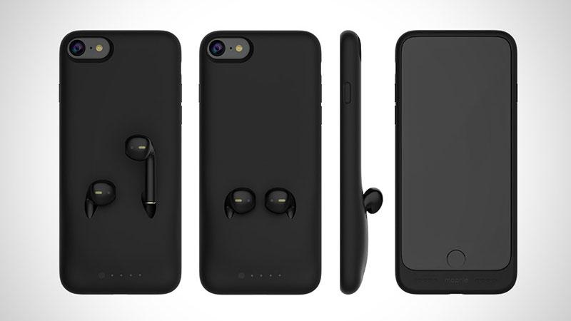 Coque iPhone pour Ranger et Recharger ses Ecouteurs AirPods ...
