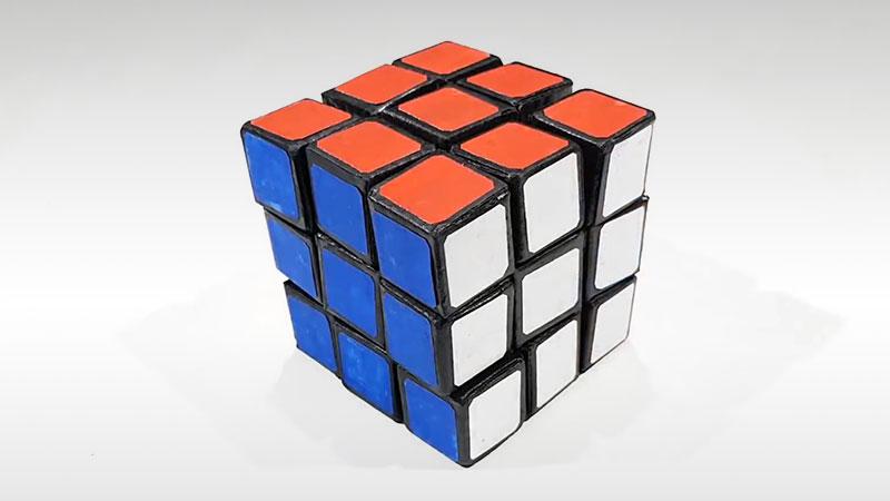exclusive shoes order authentic Voici Comment Faire un Rubik's Cube en Carton (Tuto Video)