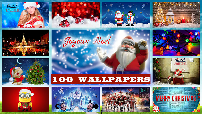 100 Noel Wallpapers Fonds Decran Hd 4k à Télécharger Gratuit